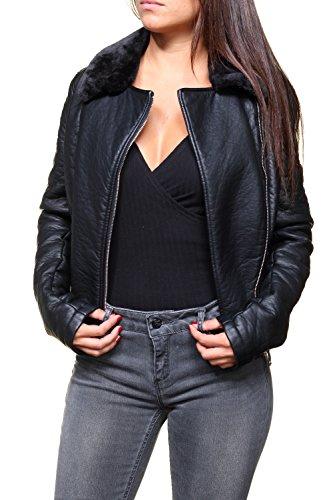blousons et vestes guess jeans w63l20 afet noir