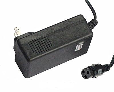 24V 1.5A Electric Scooter Battery Charger for Razor E100 E200 E300 E125 E150 E500 PR200 MX350, Pocket Mod, Sports Mod, and Dirt Quad