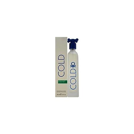 100ml3 Toilette Homme Eau Parfum Cold 4oz Spray Benetton De DEI9H2