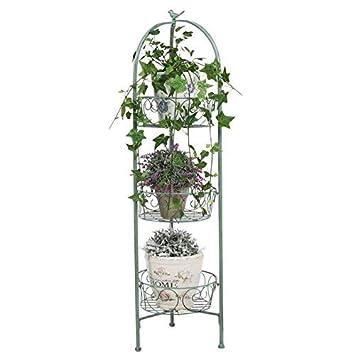 Regal Pflanztreppe Metall Blumentreppe Blumenständer