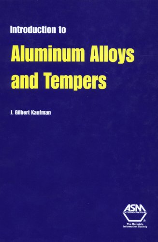 Introduction to Aluminum Alloys and Tempers