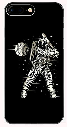Moon Shot Space Baseball Batter Strike - Phone Case for iPhone 6+, 6S+, 7+, 8+ ()