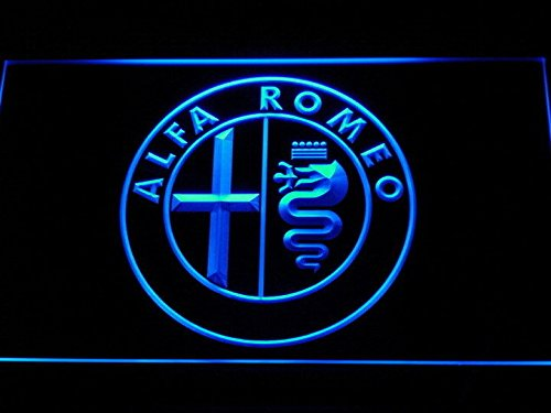 Bingirl Alfa Romeo Car Services Parts LED Neon Light Sign Man Cave D146-B