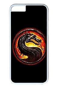 iPhone 6 Plus Case, Mortal Kombat 9 Cute Ultra Slim Pattern Bumper for iPhone 6 Plus Cover (5.5) iPhone 6 Plus cases for Girls iphone 6 Plus case hard PC White Skin