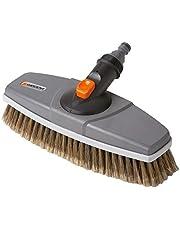 Cepillo de limpieza GARDENA: cepillo limpiador para el Cleansystem, para superficies y la limpieza del coche (5570-20)