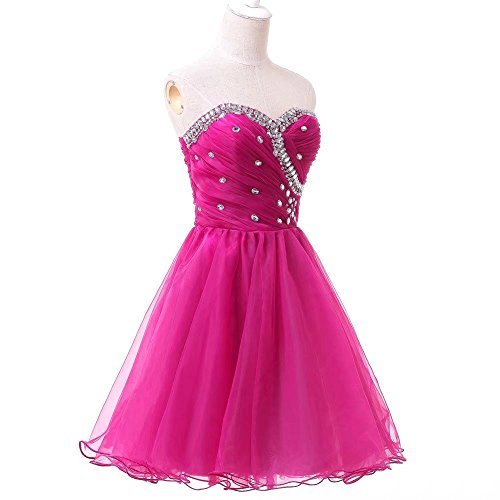 2017 AiniDress Strapless Black Gown Party Homecoming Dresses Prom Cocktail Short Beading Ball Dress vqTqAP