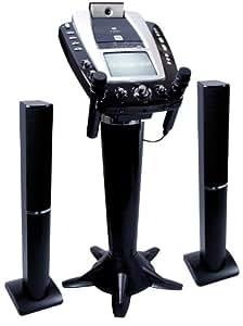 The Singing Machine STVG-1009 Pedestal CD-G Karaoke System with Tower Speakers