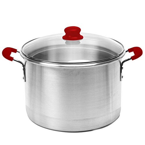 IMUSA GlobalKitchen 12 Qt. Stock Pot with Lid