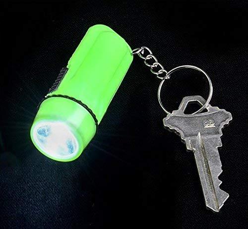 12 Pack Mini Flashlight Keychain 2 Plastic