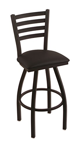 "41ZjiHQwQDL - 410 Jackie 25"" Counter Stool with Black Wrinkle Finish and Swivel Seat"