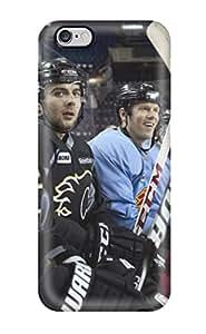 Awesome NKuboYI10008niYxQ EverettAlenders Defender Tpu Hard Case Cover For Iphone 6 Plus- Calgary Flames (13)