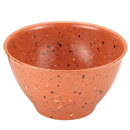 Rachael Ray Melamine Garbage Bowl in Orange