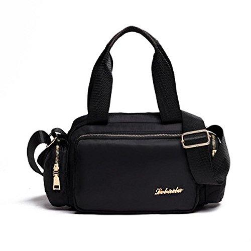 Aoligei Mode femme sac en nylon oxford en toile Baotan épaule diagonales Cross Handbag B