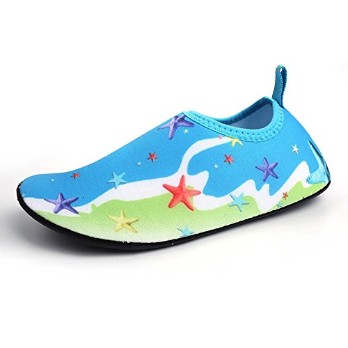 Image of LINGMAO Boys Water Shoes Barefoot Swimming Skin Shoes Aqua Socks Girls Kids for Beach Pool(Little Kid/Big Kid)