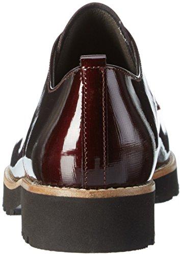 Gabor Comfort Sport, Zapatos de Cordones Derby para Mujer Rojo (Merlot S.S/C)