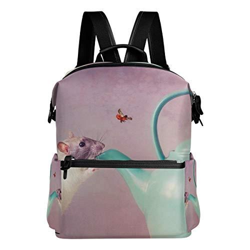 Backpack Mouse Teapot Mens Laptop Backpacks Hiking Bag School Daypack ()