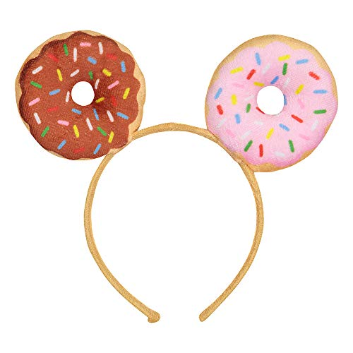 Dress Up America Girls Party Donut Headband - Theme Party Hat Tiara Decorations (The Best Girl Games Ever Dress Up)