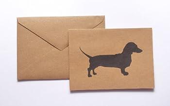 Dachshund Stationery Note Card Set
