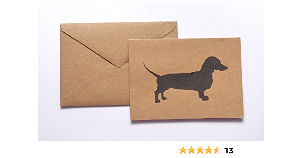Pack of 10 Note Cards /& Envelopes Dachshund CardsDachshund Turkey CardsDachshundsThanksgiving Assortment AvailableDoxie Cards