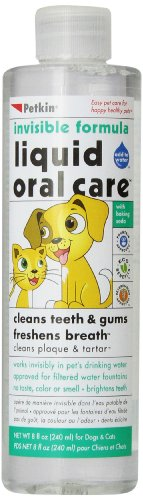Petkin Pet liquide Oral Care, 8 onces (Pack de 6)