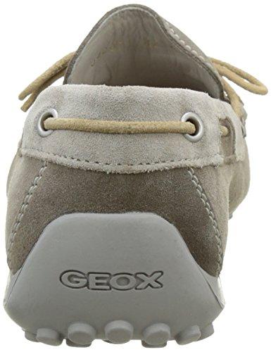 Geox U Snake Moc. I - Mocasines para hombre Beige (Taupe/Rockcq65Y)