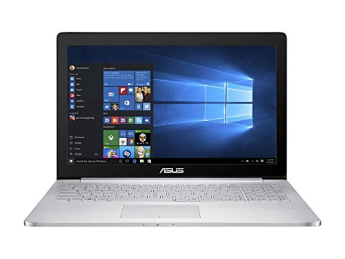 Newest ASUS 15.6' 4K/UHD ZenBook Pro Touchscreen Backlit Keyboard Flagship Premium Gaming Laptop PC| Intel Core i7-6700H Quad-Core| NVIDIA GeForce GTX 960M 2GB GDDR5| 16GB DDR4| 512GB SSD| Windows 10