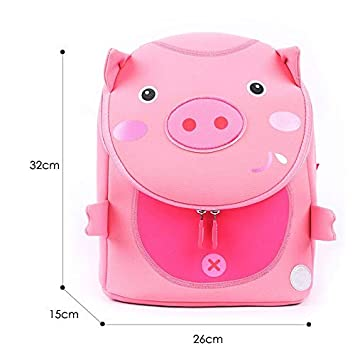d8a545ba9b43 Best Quality - Neoprene School Backpack - Fashion Pink Pig School Bags for  Girls Boys Lovely Animals Design Waterproof Children Backpacks Student Kids  Bag ...