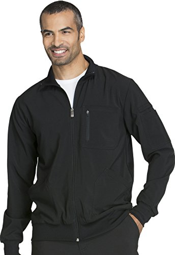 Zip Front Scrub Jacket - 4