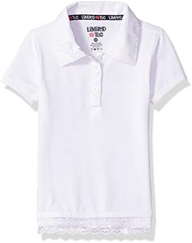Limited Too Girls' Short Sleeve Jersey Polo Shirt (More Styles Available)