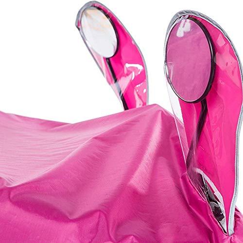 Outdoor Leggero Hiking Blu Rainwear Poncho Fashion colore Impermeabile Giovane Camping Multifunzionale Pink Ciclismo Saoye Donna z8wgqXn
