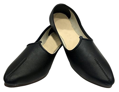 Indian Shoes Shoes Sherwani Mens Style n Jutti Shoes Step Jalsa Shoes Casual Black Ethnic TYqxZPf