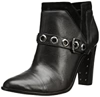 Trina Turk Women's Westlake Boot,Metallic Black,7.5 M US