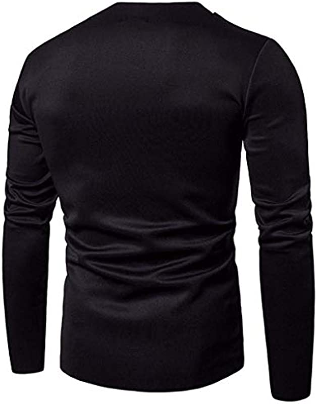 Męska Autumn Slim Long Sleeved koszulka top sweter ubranie Solid Blouse sweter z kapturem bluza sweter męski Softshell sweter miękki Jumper sweter: Odzież