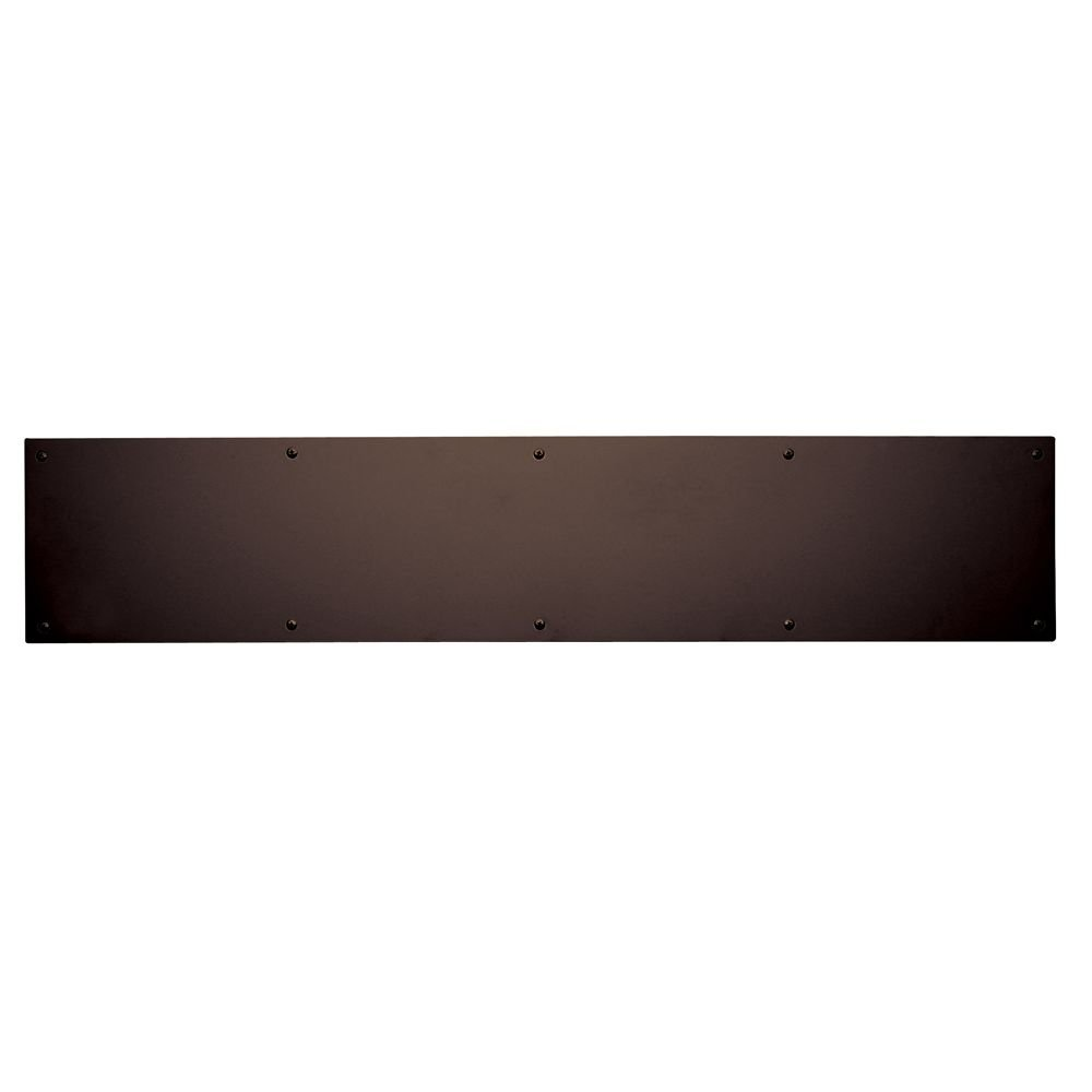 Trimco 8X34.613 Kick Plate, Oil Rubbed Bronze, 8'' x 34''