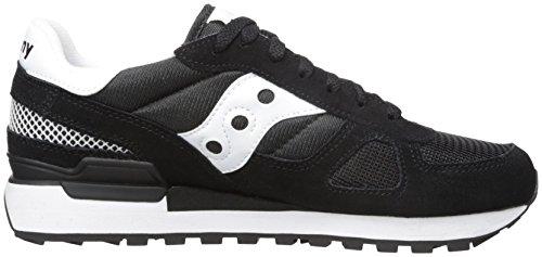 Saucony Dames Schaduw Origineel Lage Sneaker, Media Black (zwart)