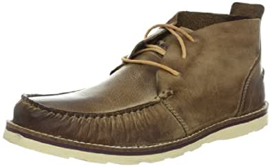 Kenneth Cole REACTION Men's Face Facts Chukka Boot,Tan,8 M US