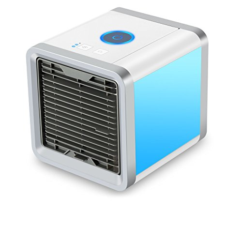YKHENGTU Arctic Air Personal Space Cooler, Portable Air Conditioner, Humidifier and Purifier, Quick Easy Way to Cool Any Space,Tabletop Cooling Fan for Office Home Dorm Outdoor (Arctic Outdoor Tabletop)