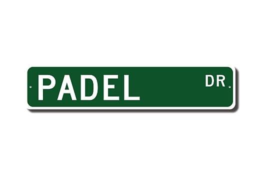 Cartel de Padel Padel Padel Fan Padel Player Padel Gift Us ...
