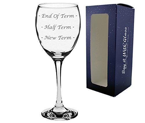 Amazon Teacher Wine Glass