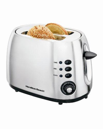 Hamilton Beach 2-Slice Toaster - Brushed Metal
