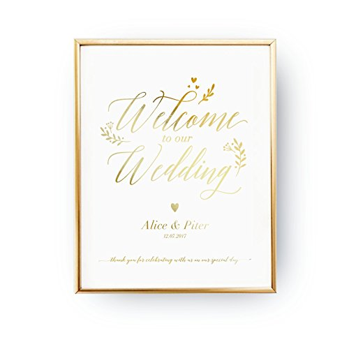 Welcome To Our Wedding, Wedding Decoration, Wedding Signs, R