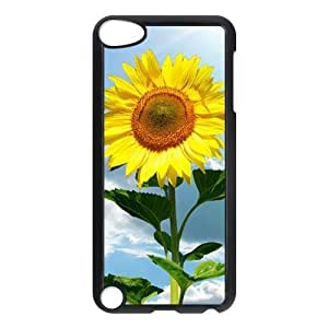 Diy Yourself Generic cell phone case cover For Ipod Touch 5 case cover Blooming Sunflower m5uINHRzJqH Pattern