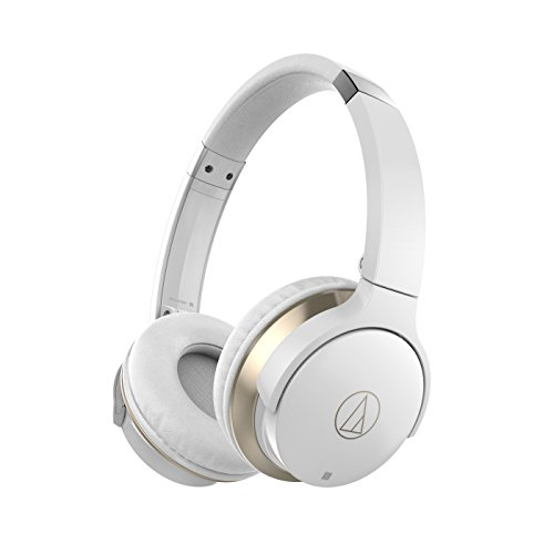 Audio-Technica ATH-AR3BTWH SonicFuel Wireless On-Ear Headpho
