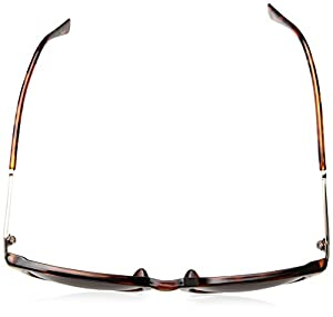A.J. Morgan Davis Rectangular Sunglasses, Tortoise, 51 mm