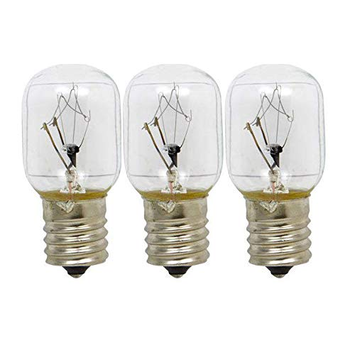 (ANTOBLE 3 Pack 8206232A Microwave Light Bulb for Whirlpool Microwave 1890433 8206232)