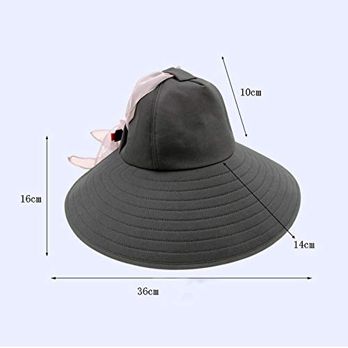 Hat Female Summer Sunscreen Beach Hat Visor UV Sun Protection Cap Outdoor Cool Hat Cotton Breathable Sweat