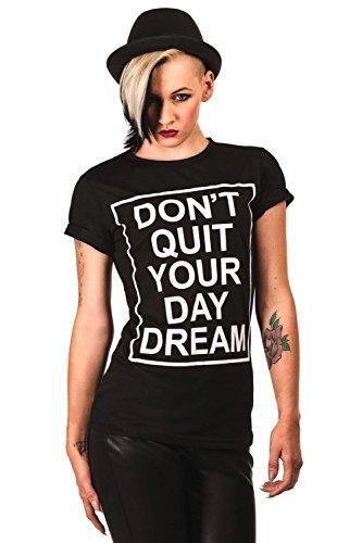 Pilot Day Dream lema de la camiseta de Negro Negro