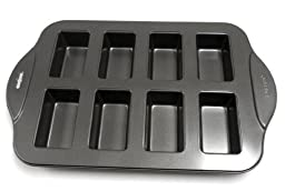 Norpro Nonstick Linking Mini 8 Bread Loaf Meatloaf Fruitcake Dessert Pan 3943