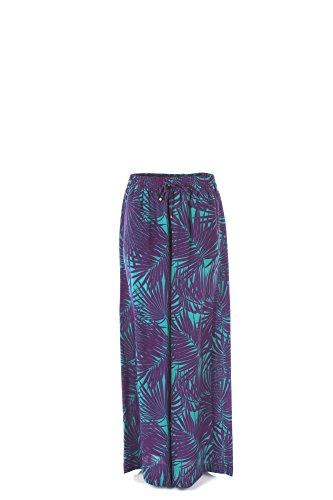 Pantalone Donna Maxmara 44 Viola Armanda Primavera Estate 2017