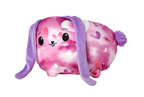"""Pikmi Pops Jelly Dreams Bunny - Collectible 11"""" LED Light Up Glowing Plush Toy"""